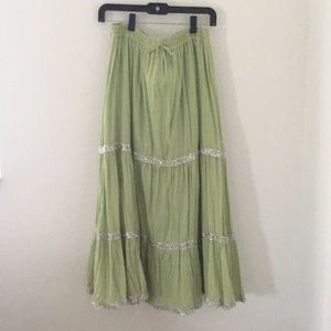 """""""Rampage"""" size small long Boho-style skirt!"""